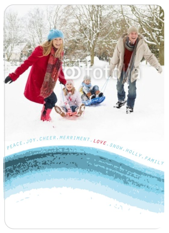 Holiday Greeting Card - Brossie Belle