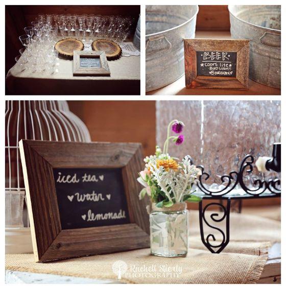 rustic barn wedding - brossie belle vintage rentals