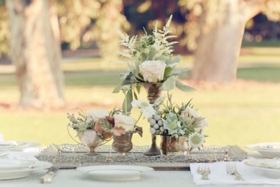 Antique Silver Wedding Ideas - Brossie Belle